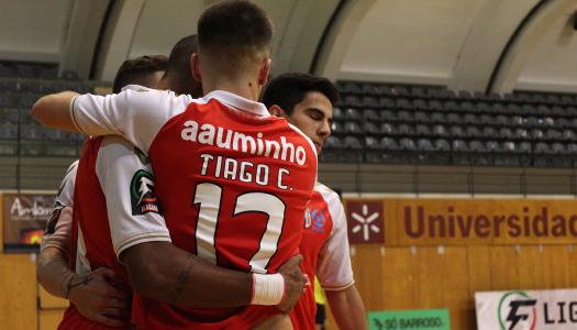 SC Braga/AAUM perde frente ao Dínamo Sanjoanense