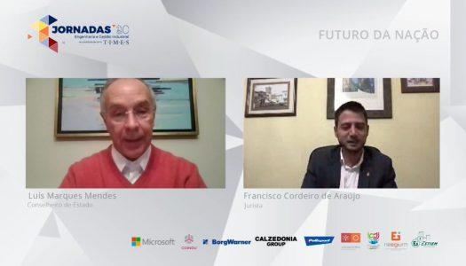 Luís Marques Mendes encerra as Jornadas de Engenharia Industrial na UMinho