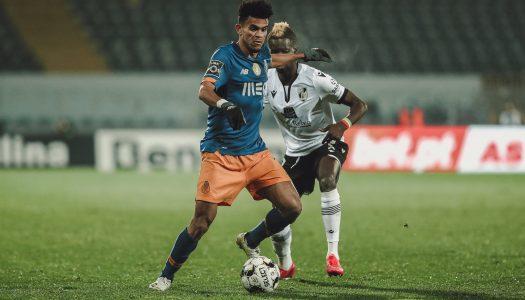 Vitória SC é derrotado na receção ao FC Porto