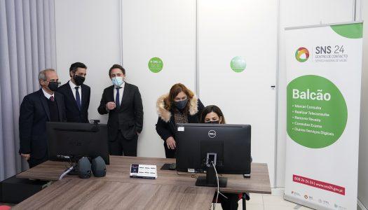 """Guimarães inaugura serviço de teleconsultas """"SNS24 Balcão"""""""
