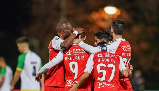 SC Braga goleia Olímpico do Montijo e avança na Taça de Portugal
