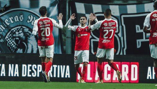 SC Braga domina Boavista FC e sobe ao segundo lugar