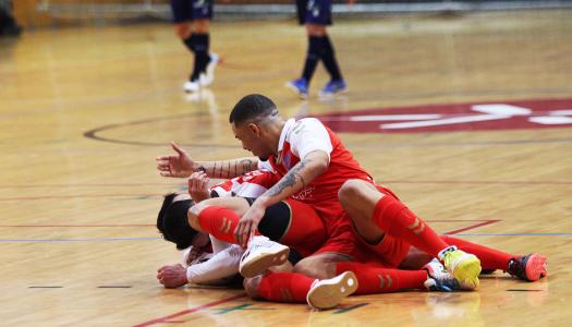 SC Braga/AAUM triunfa frente ao Futsal Azeméis