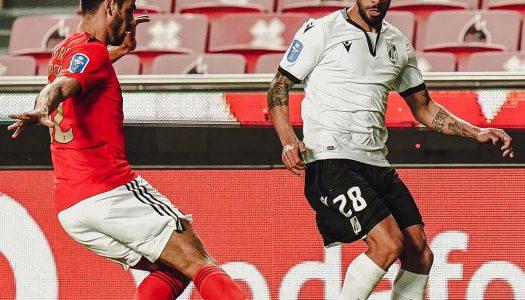 Vitória SC eliminado da Allianz Cup frente ao SL Benfica