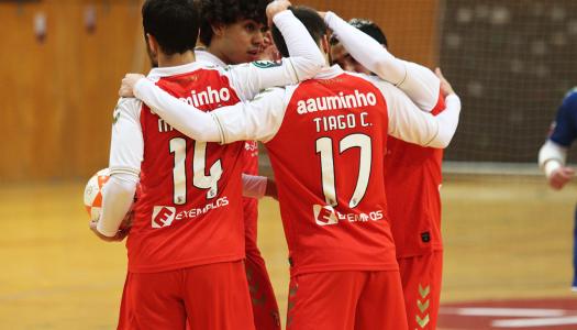SC Braga/AAUM quebra sucessão de derrotas com triunfo sobre o Belenenses
