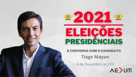 """Tiago Mayan: """"Sou o primeiro candidato verdadeiramente liberal a Presidente da República"""""""