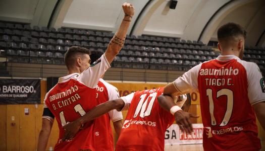 SC Braga/AAUM vence dérbi minhoto frente ao CR Candoso