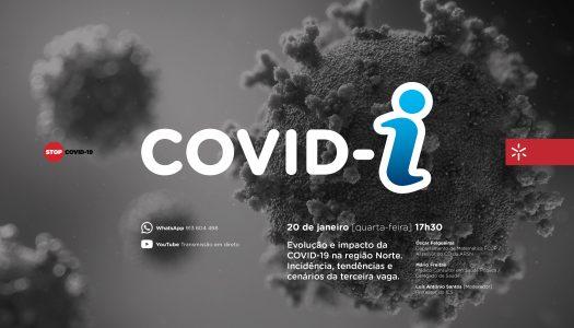 UMinho discute evolução e impacto da Covid-19 na região Norte na terceira sessão COVID-i