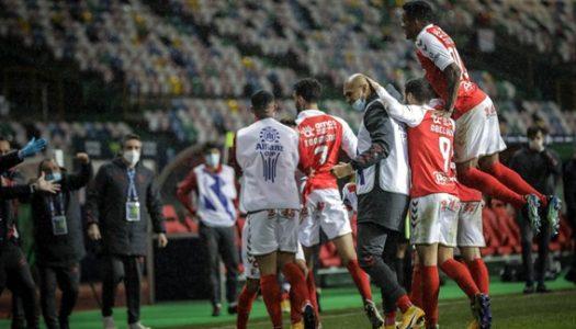 SC Braga vence Benfica e apura-se para a final da Allianz Cup