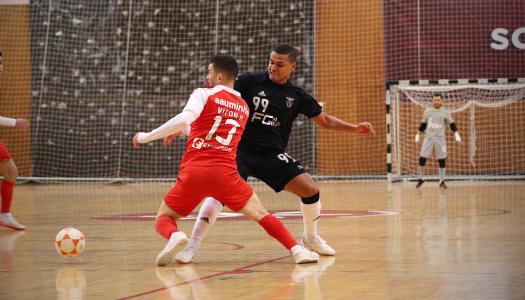 SC Braga/AAUM soma um ponto no primeiro jogo do ano