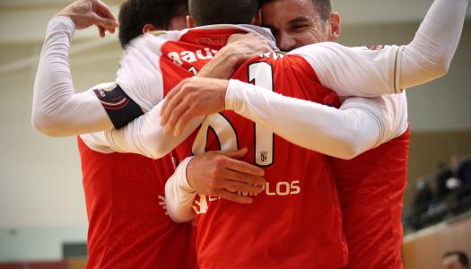 Chuva de golos termina na sexta vitória do SC Braga/AAUM no campeonato