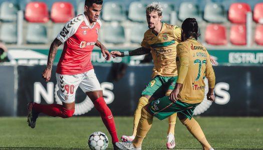 SC Braga derrotado na deslocação a Paços de Ferreira