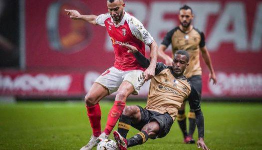 SC Braga vence o Santa Clara nos quartos-de-final da Taça de Portugal