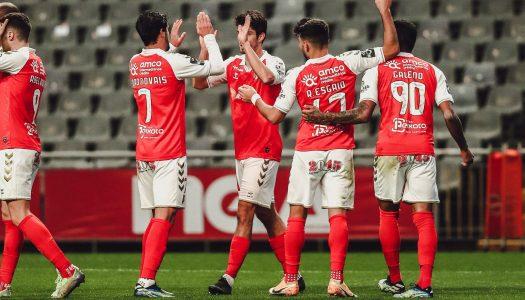 Chuva de golos dá triunfo ao SC Braga frente ao CD Tondela