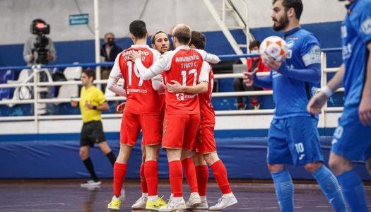 SC Braga/AAUM vence frente à AD Modicus