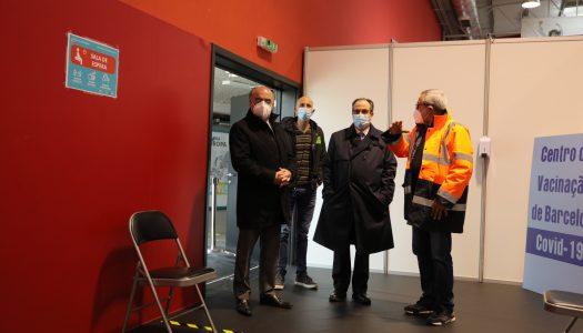 Barcelos inaugura Centro de Vacinação contra a Covid-19