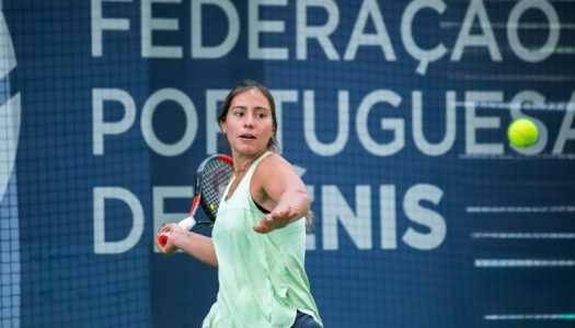 Francisca Jorge apura-se para a segunda ronda nas Caldas da Rainha