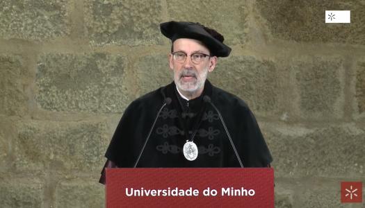 """Rui Vieira de Castro: """"A Universidade pode e deve orgulhar-se"""""""