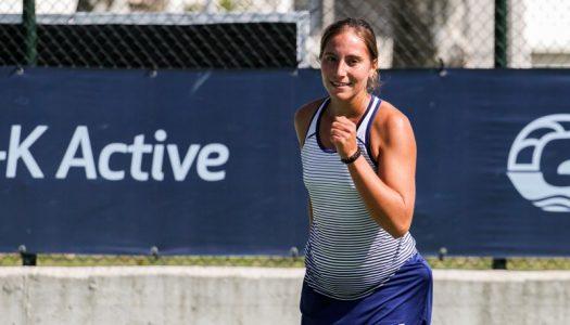 Francisca Jorge afastada do torneio de pares em Gonesse