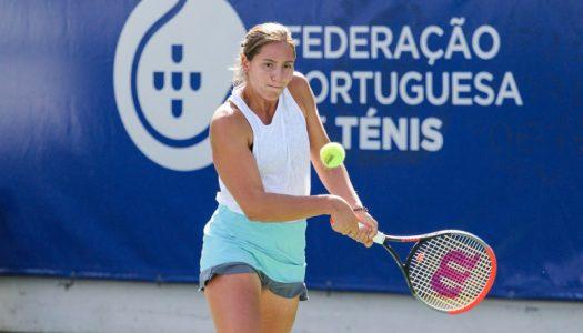 Francisca Jorge avança para os quartos de final do torneio de Vilhena