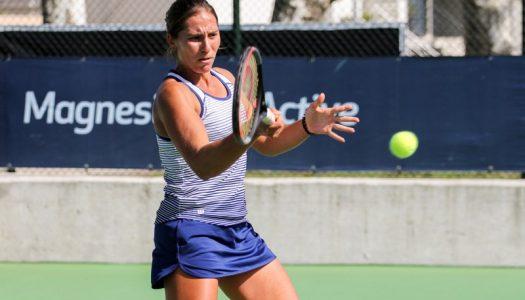 Francisca Jorge eliminada do torneio de Gonesse