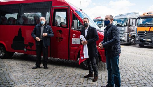 SC Braga oferece autocarro à Irmandade de S. Bento da Porta Aberta