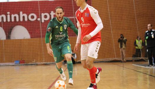 SC Braga/AAUM não vai além de um empate frente ao Leões de Porto Salvo