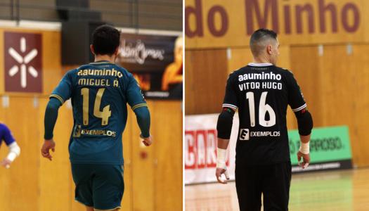Dois atletas do SC Braga convocados para a Seleção Nacional de Futsal