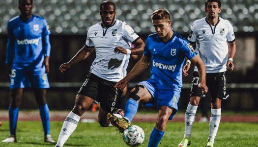 Vitória SC empata com Belenenses SAD depois de três vitórias consecutivas