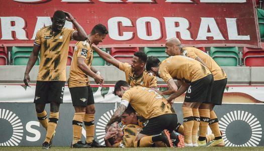 Moreirense vence no Estádio dos Barreiros