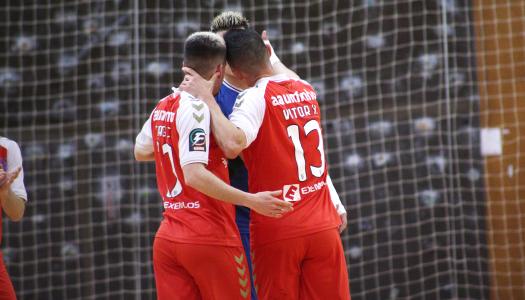 SC Braga/AAUM vence CR Candoso após reviravolta