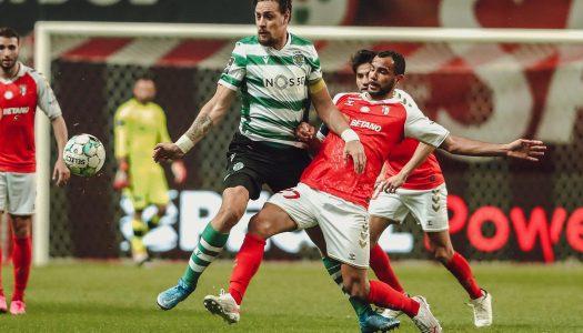 SC Braga perde pela margem mínima na receção ao Sporting CP