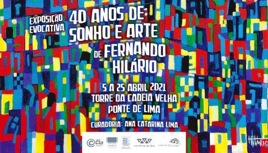 Fernando Hilário com exposição artística na Torre da Cadeia Velha