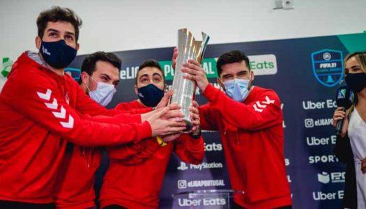 SC Braga é tricampeão nacional de eSports