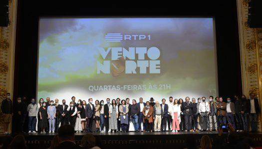 """""""Vento Norte"""". Série gravada em Braga é apresentada no Theatro Circo"""
