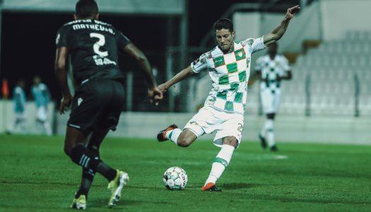 Moreirense FC consegue empate perto do final frente ao Sporting CP