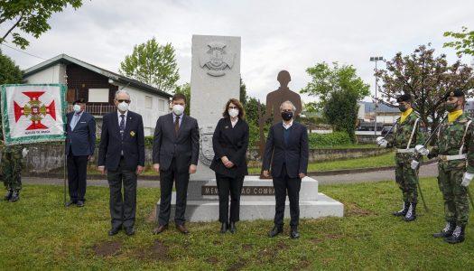 Caldas das Taipas recebe memorial em homenagem a antigos combatentes