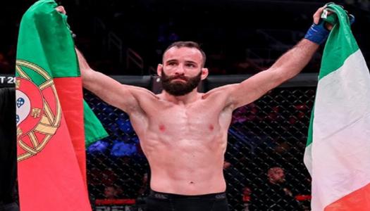 Pedro Carvalho regressa aos combates na MMA