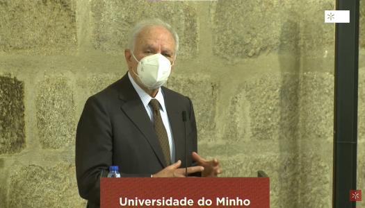 """Luís Valente Oliveira: """"Um novo ciclo que se abre vai perpetuar o trabalho e a vida da Universidade"""""""