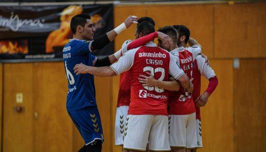SC Braga/AAUM eliminado do play-off da Liga Placard