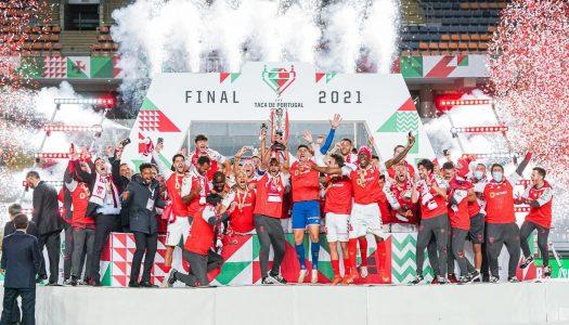 SC Braga vence SL Benfica e conquista a Taça de Portugal