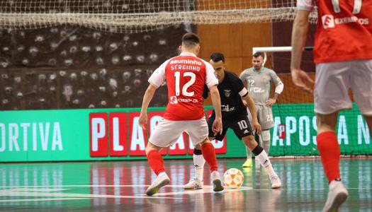 SC Braga/AAUM escorrega frente ao SL Benfica