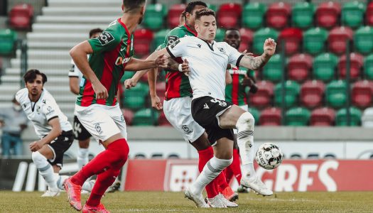 Vitória SC empata na Madeira na estreia de Moreno