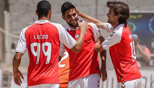 SC Braga avança para a final do Campeonato de Elite de Futebol de Praia