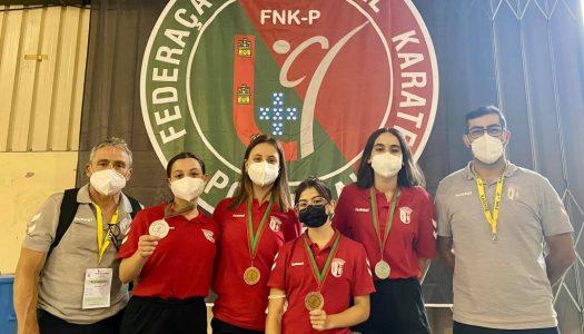 Atletas do SC Braga conquistam medalhas no Campeonato Nacional de Karaté