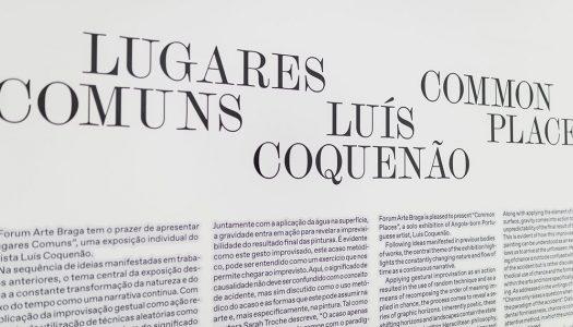 Exposição de Luís Coquenão em destaque no Altice Fórum Braga