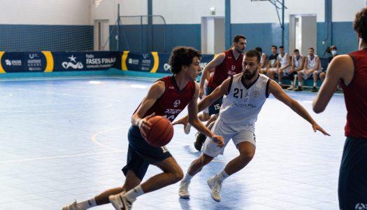 AAUM invicta no futsal masculino e com resultados diferentes no basquetebol e andebol masculino