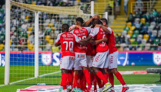 SC Braga sai derrotado na Supertaça Cândido de Oliveira