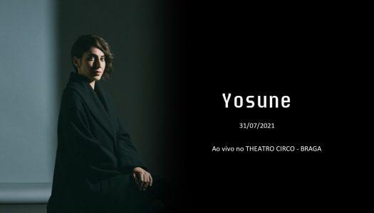 "Yosune apresenta ""Azul"" no Theatro Circo"