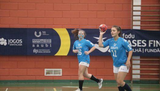 AAUM imbatível em mais um dia de Campeonatos Nacionais Universitários